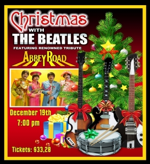 CHRISTMAS WITH THE BEATLES FEATURING ABBEY ROAD 12/19 7:00 pm