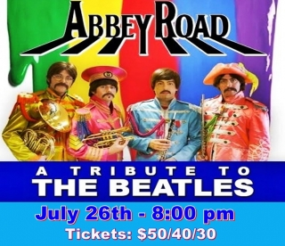 ABBEY ROAD - TRIBUTE TO THE  BEATLES 7/26