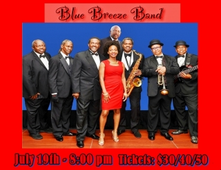 BLUE BREEZE BAND - TRIBUTE TO MOTOWN 7/19