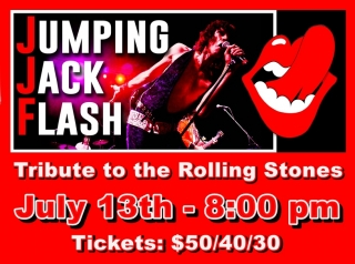 JUMPING JACK FLASH - ROLLING STONES TRIBUTE 7/13